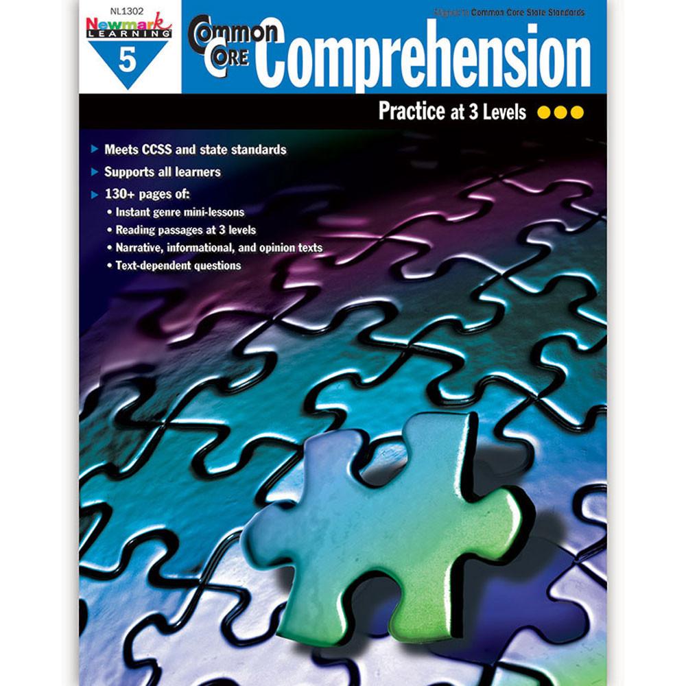 NL-1302 - Common Core Comprehension Gr 5 in Comprehension
