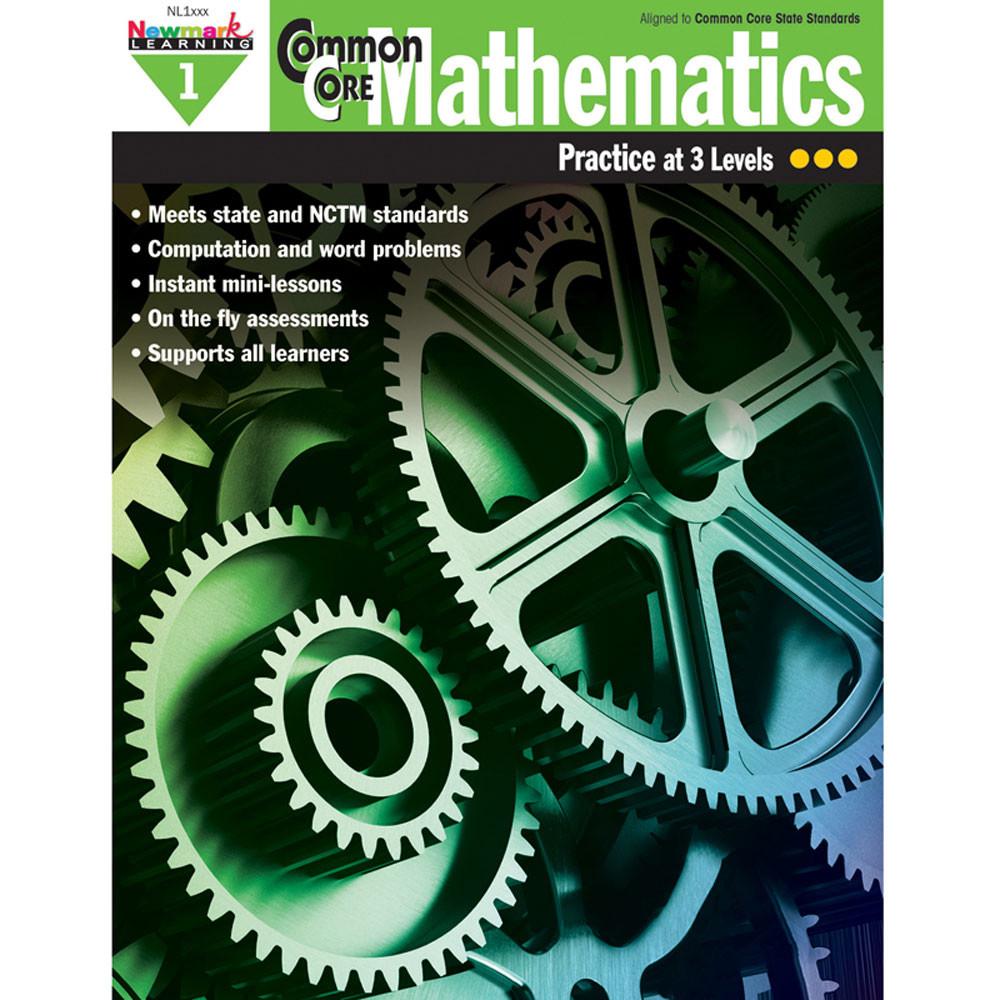 NL-1304 - Common Core Mathematics Gr 1 in Activity Books