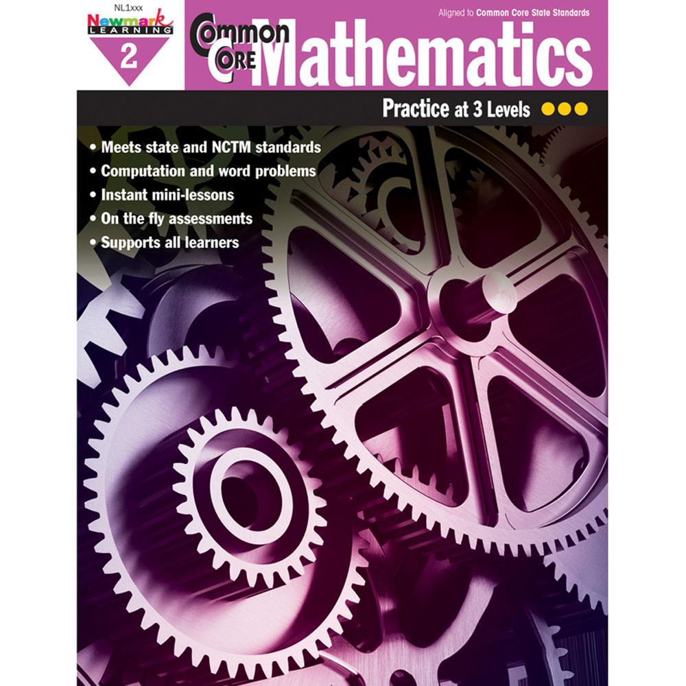 NL-1305 - Common Core Mathematics Gr 2 in Activity Books
