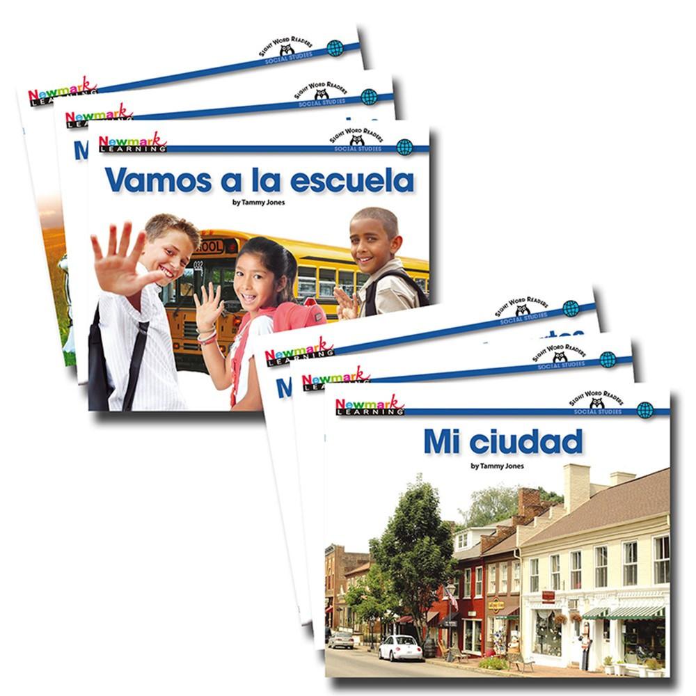 NL-1981 - En Espanol Sight Word Readers Social Studies Set Of 16 in Language Arts