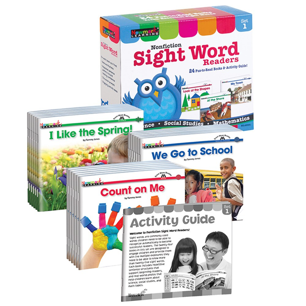 NL-4664 - Nonfiction Sight Word Readers St 1 Early Readers Boxed St in Sight Words