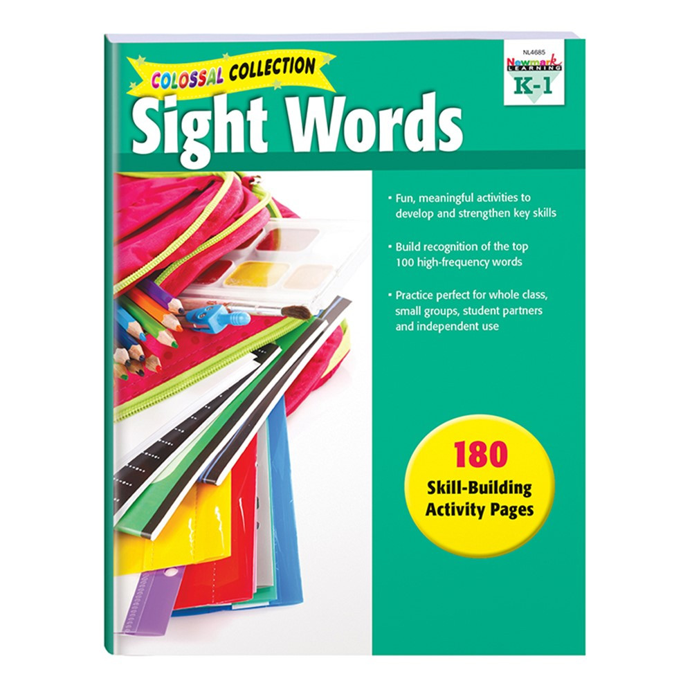 NL-4685 - Sight Word Activities in Sight Words