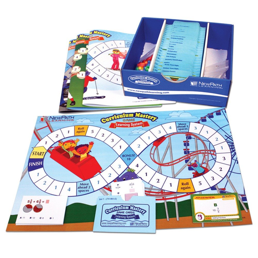 NP-235001 - Mastering Math Skills Games Class Pack Gr 5 in Math