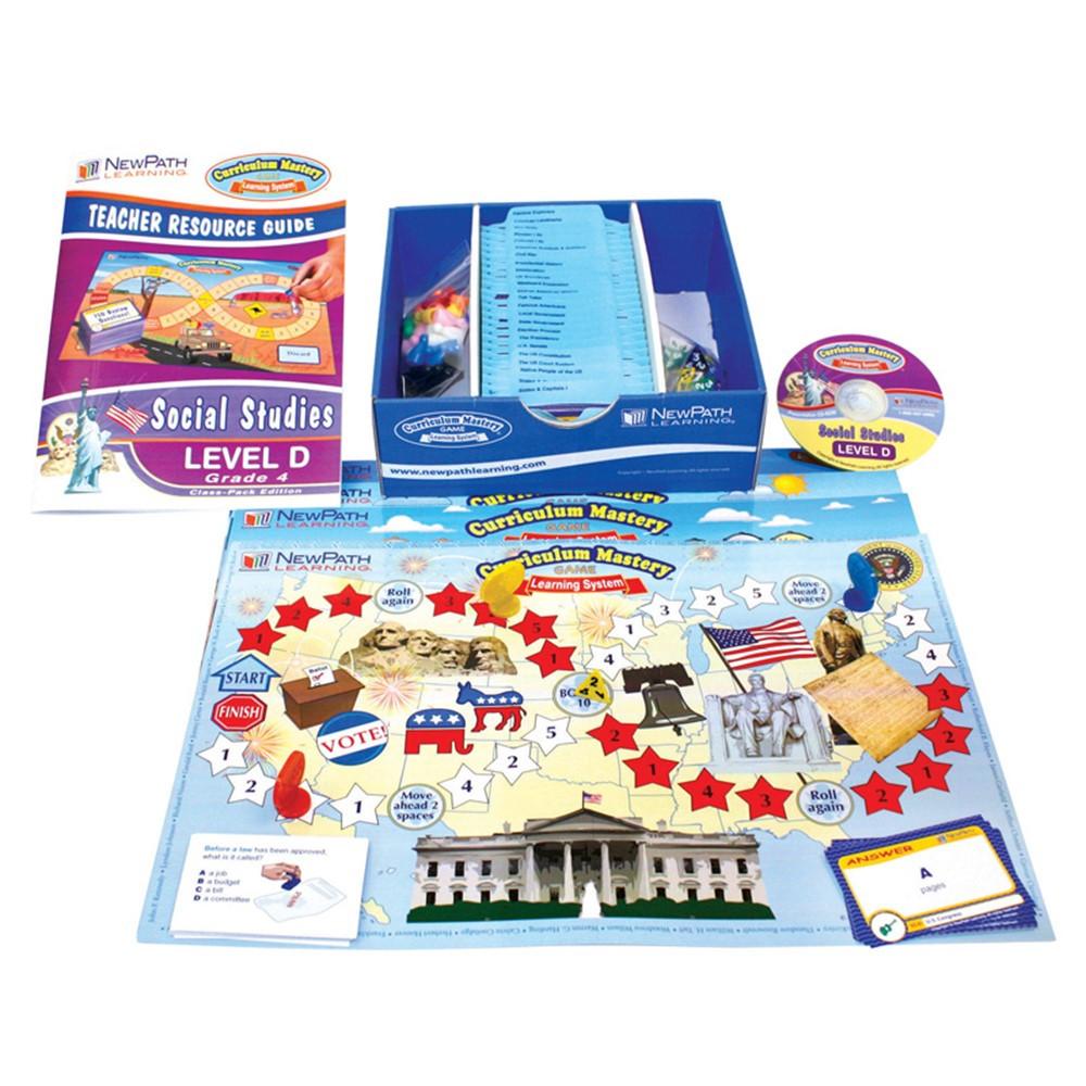 NP-254001 - Mastering Social Studies Skills Games Class Pack Gr 4 in Social Studies