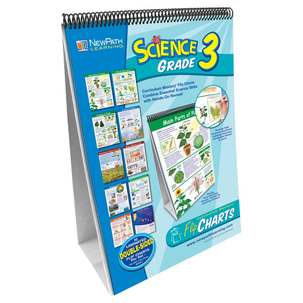 NP-343001 - Science Flip Chart Set Gr 3 in Science