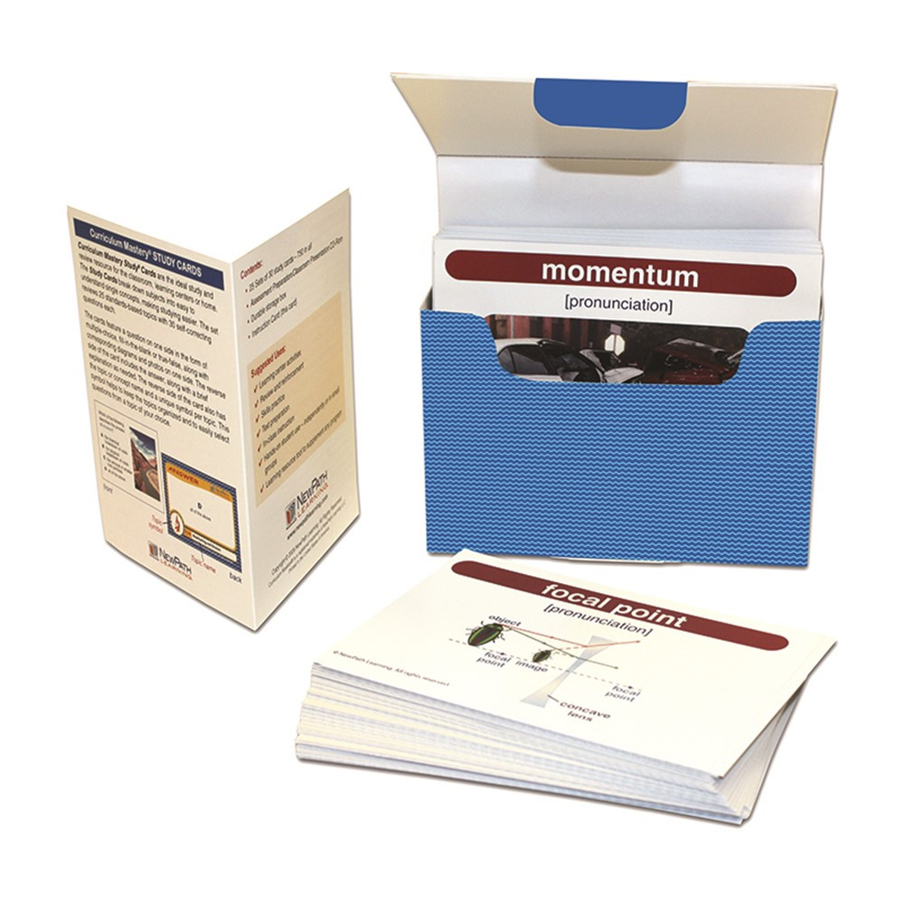 physical science vocabulary builder flash card set middle school