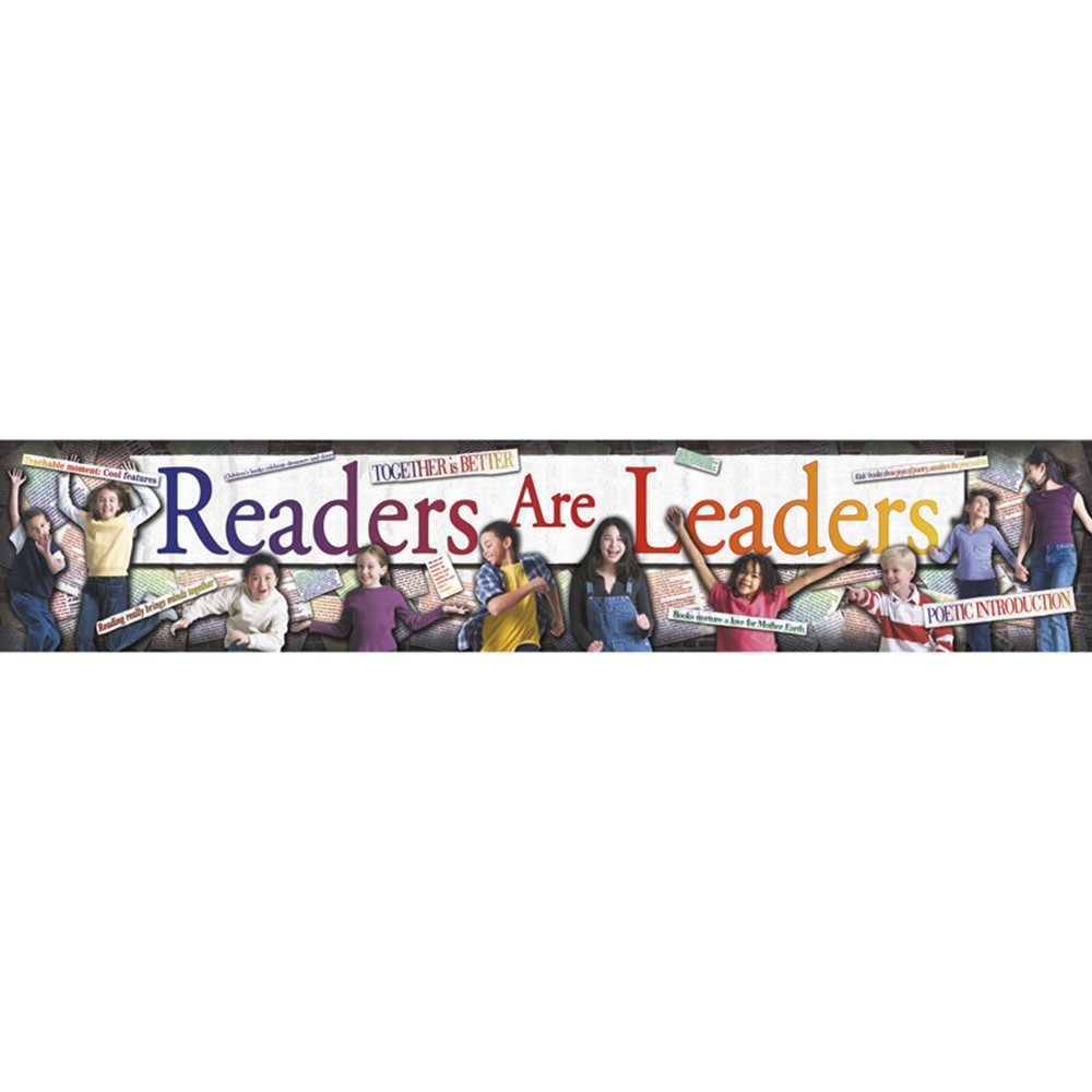 NST1206 - Readers Are Leaders Banner in Banners