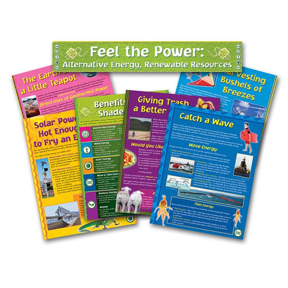 NST3034 - Alternative Energy Renewable Resource Bulletin Board Set in Science