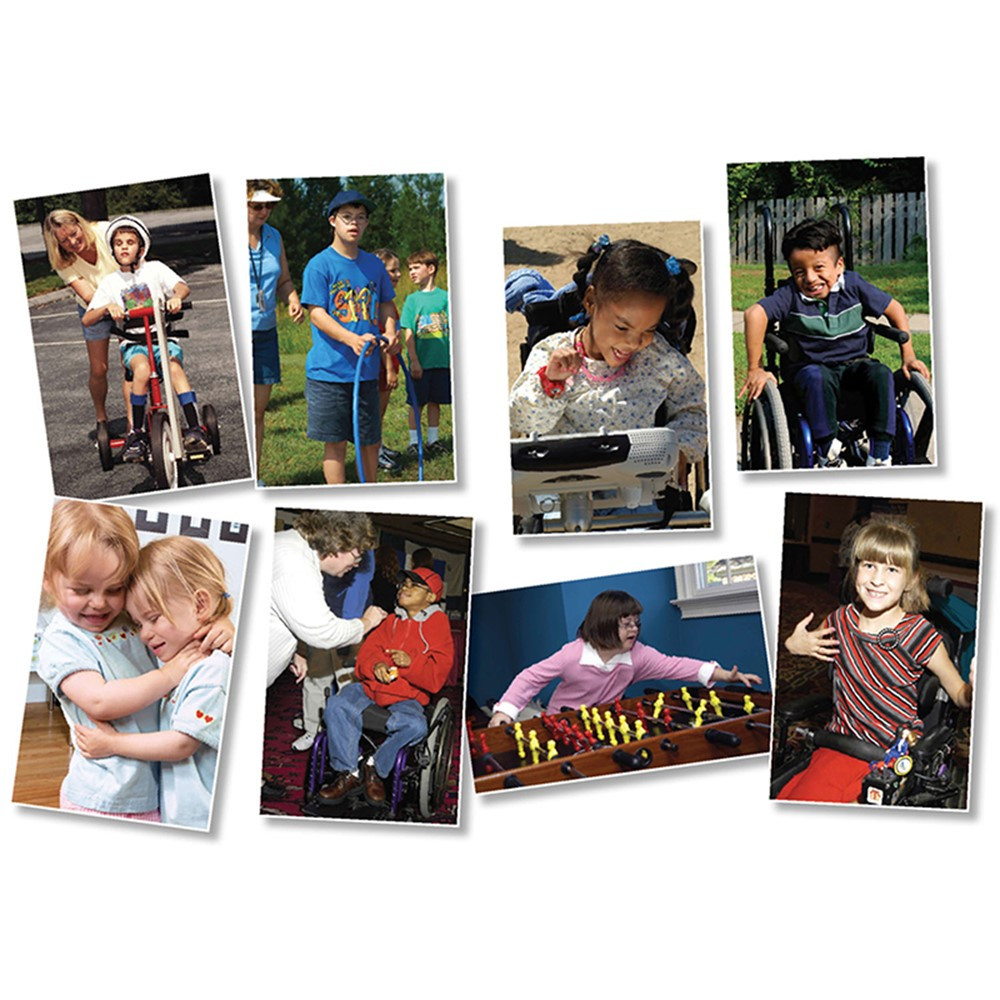 NST3047 - All Kinds Of Kids Differing Abilities Bulletin Board Set in Social Studies