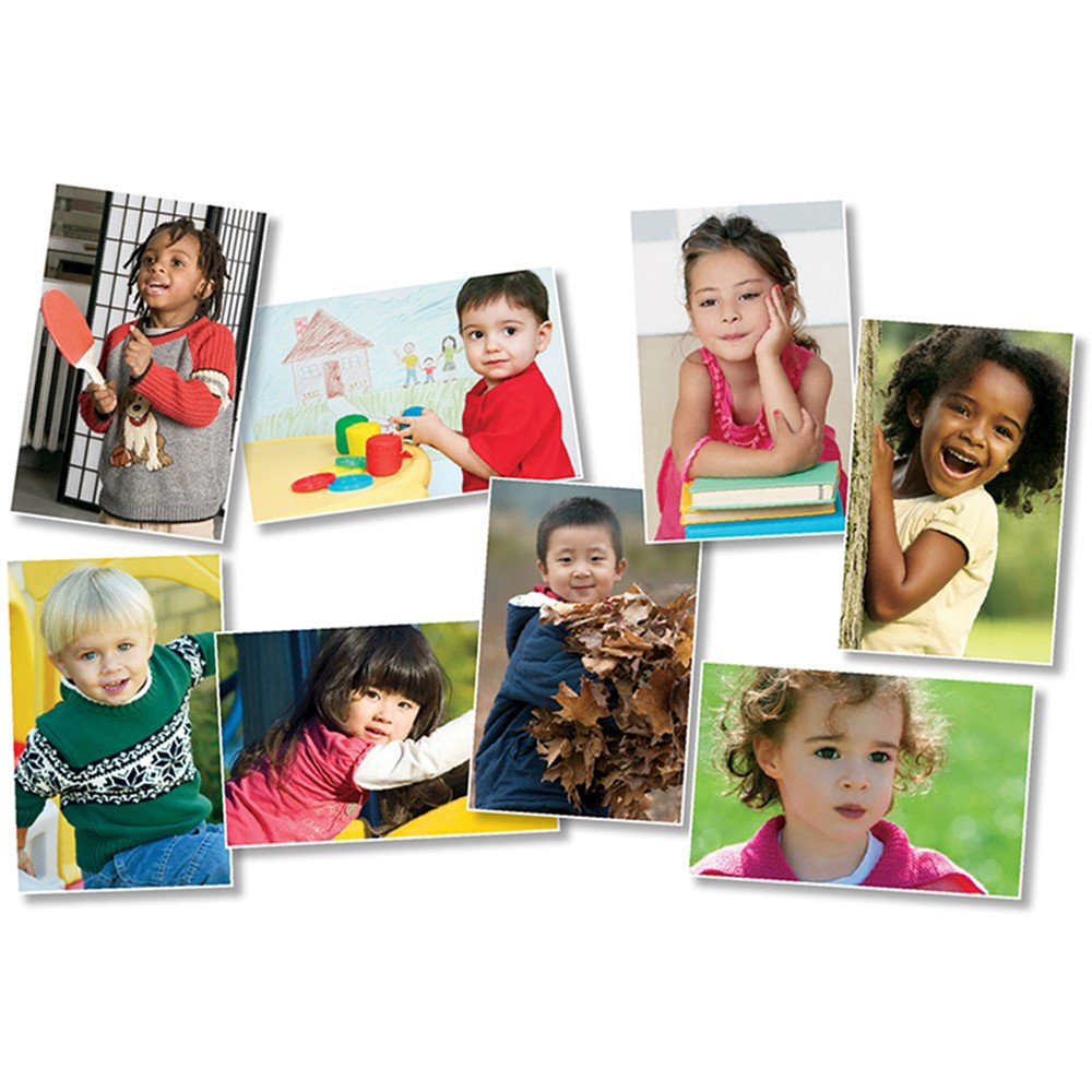 All Kinds of Kids: Preschool Bulletin Board Set