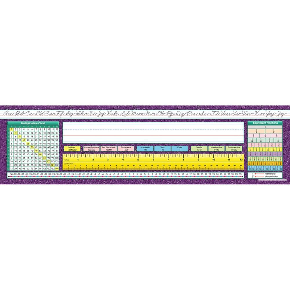 NST9005 - Desk Plate Intermediate Traditional Cursive in Name Plates