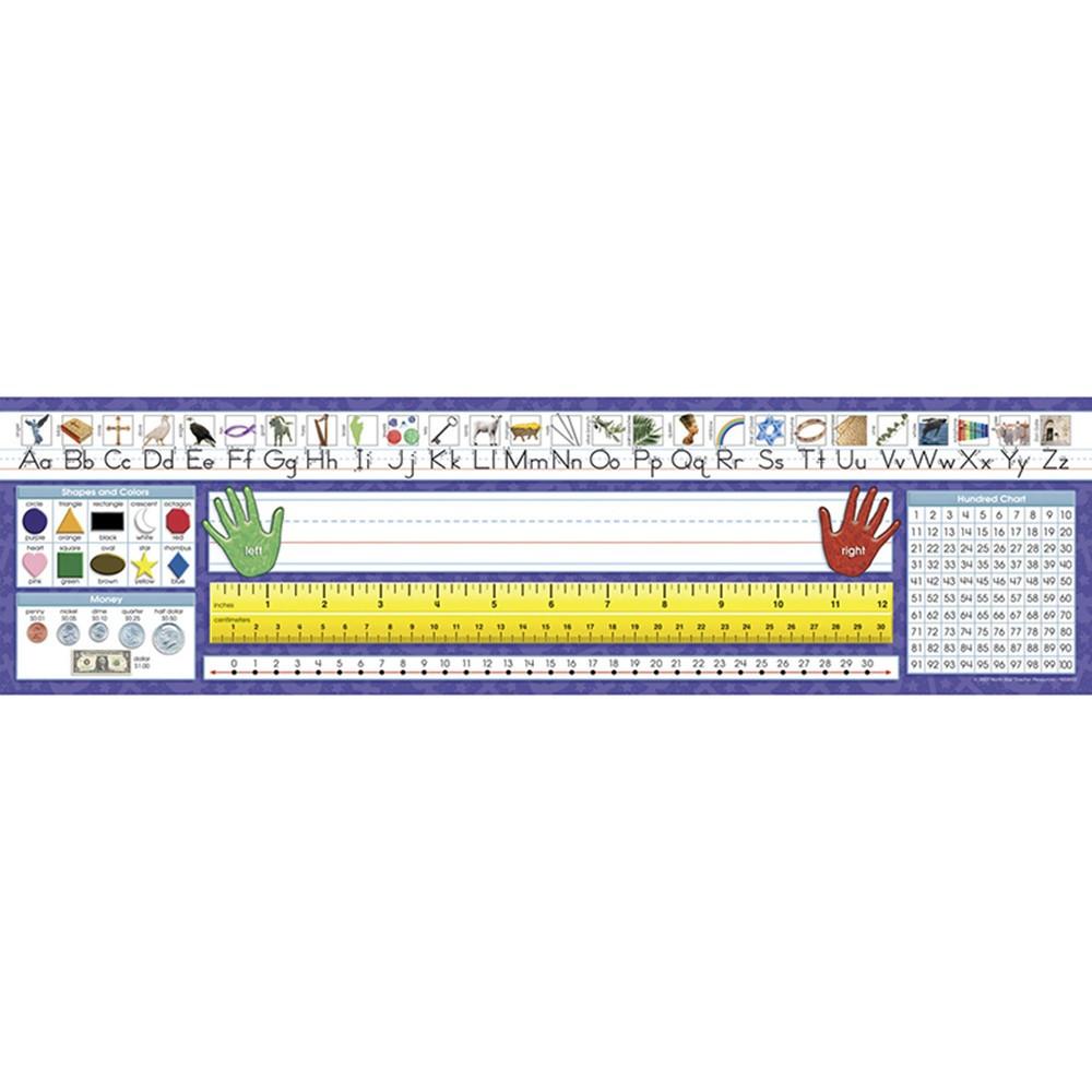 Traditional Manuscript Desk Plates Nst9022 North Star Teacher Resource Desk Accessories