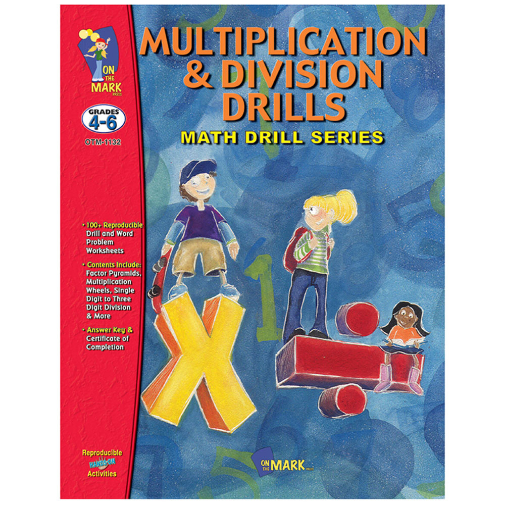 Multiplication & Division Drills - OTM1132 | On The Mark Press ...
