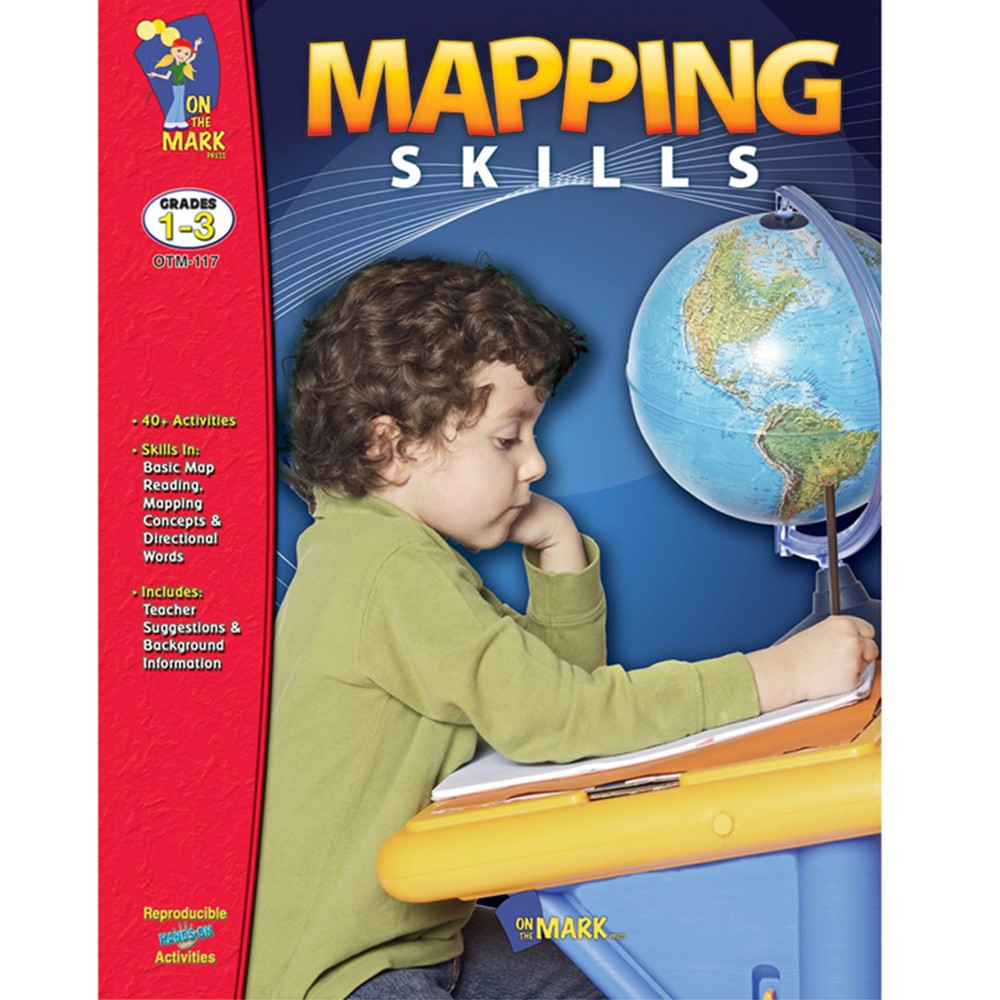 OTM117 - Mapping Skills Grs 1-3 in Maps & Map Skills