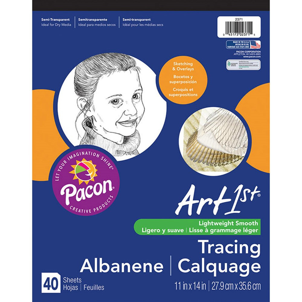 PAC2371 - Art1st Tracing Pad 11X14 in Sketch Pads