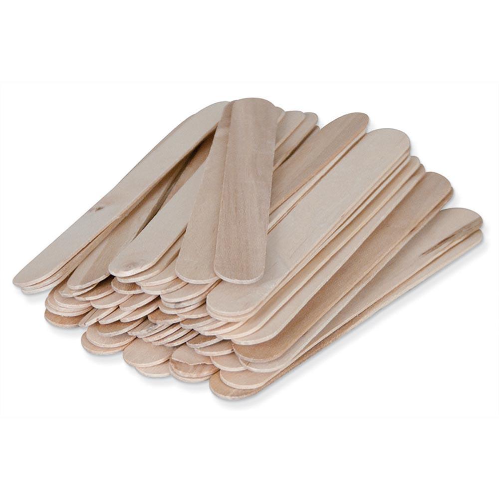 PAC25370 - Natural Wood Craft Sticks 500Pcs Large 6L X 3/4W in Craft Sticks