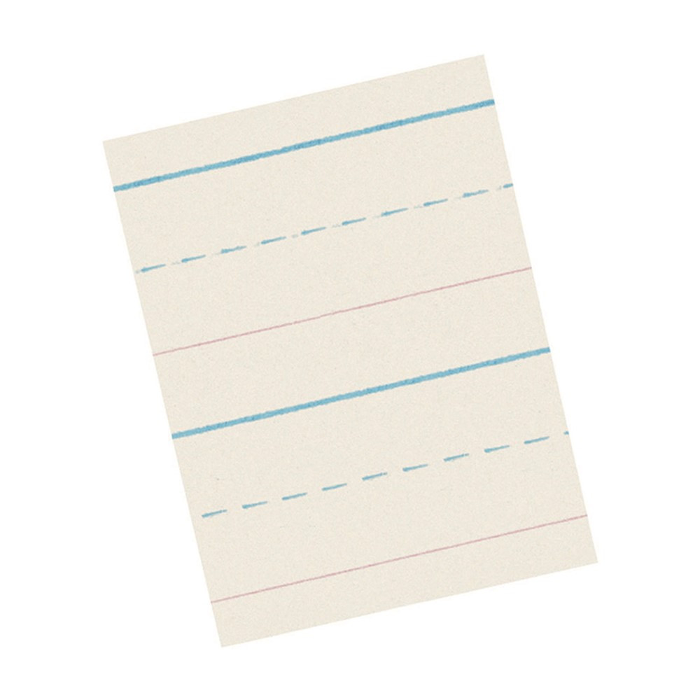 PAC2692 - D-Nealian Ruled Pads 500 Sht Gr K 500 Sheets/Ream in Handwriting Paper