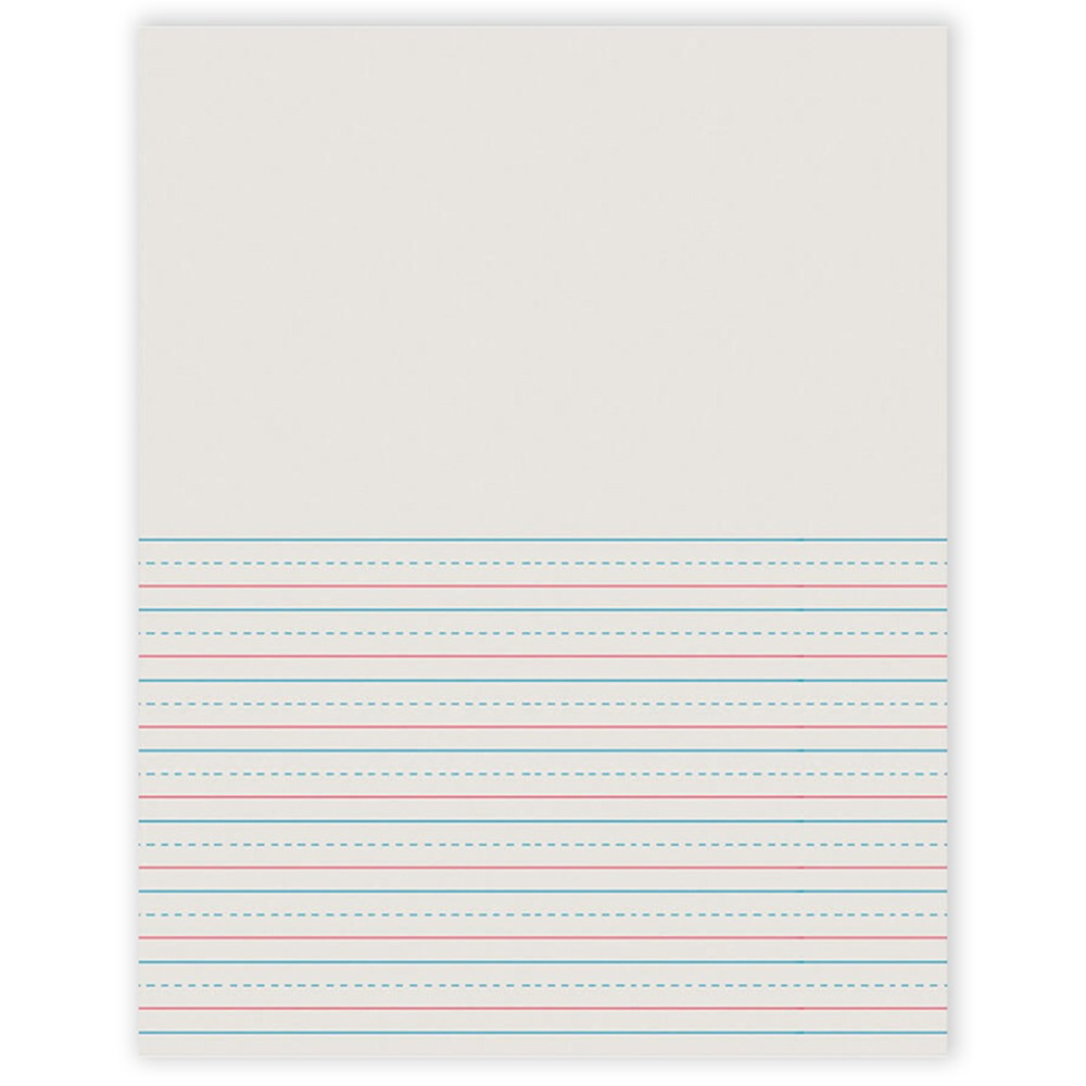 PAC2695 - Writing Paper 50 Sht 8.5 X 11 1/2 Inch Rule Short in Loose Leaf Paper