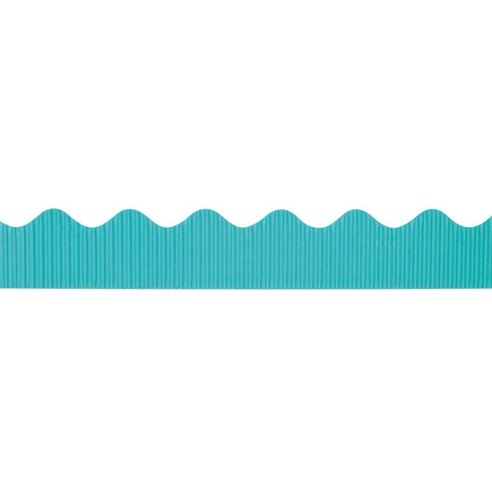 PAC37166 - Bordette 2 1/4 X 50Ft Azure Blue in Bordette