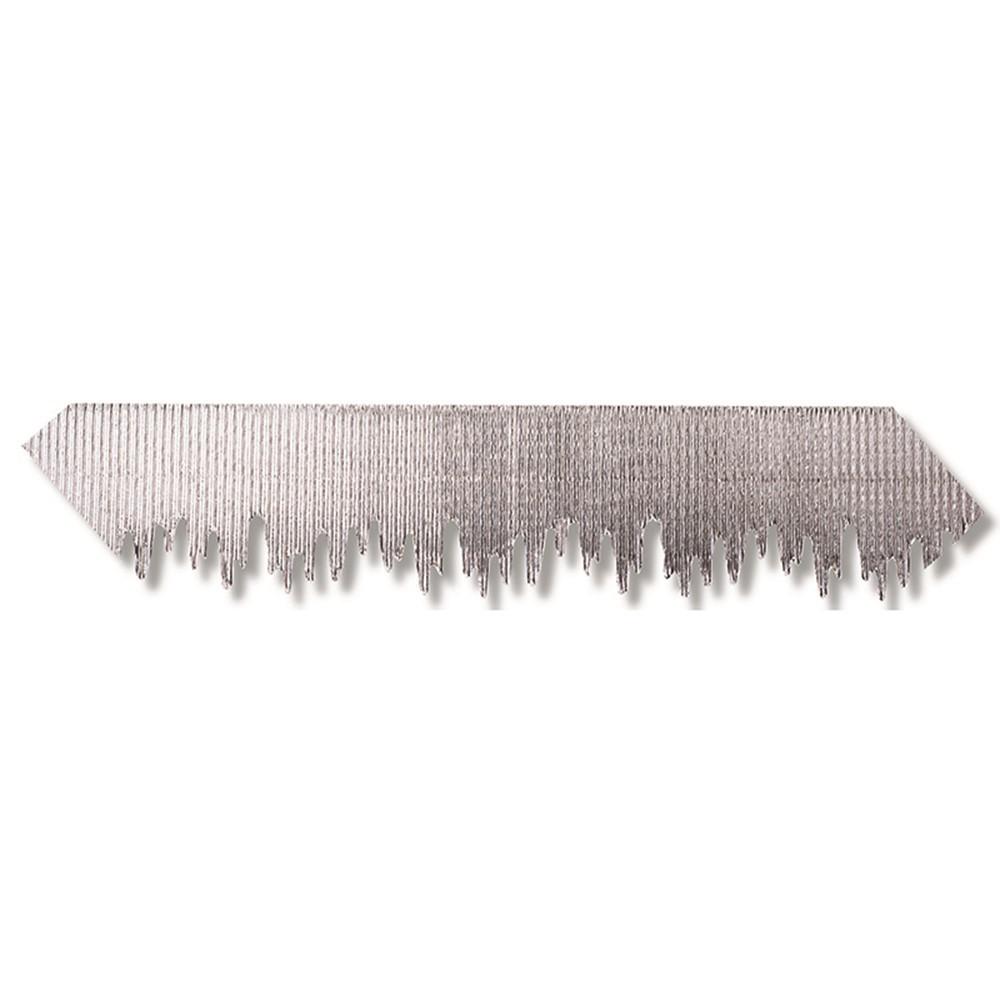 PAC37710 - Silver Metallic Icicles Bordette in Bordette