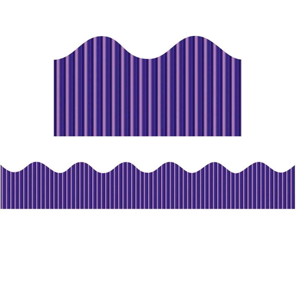 PAC37870 - Metallic Bordette Rolls Purple in Bordette