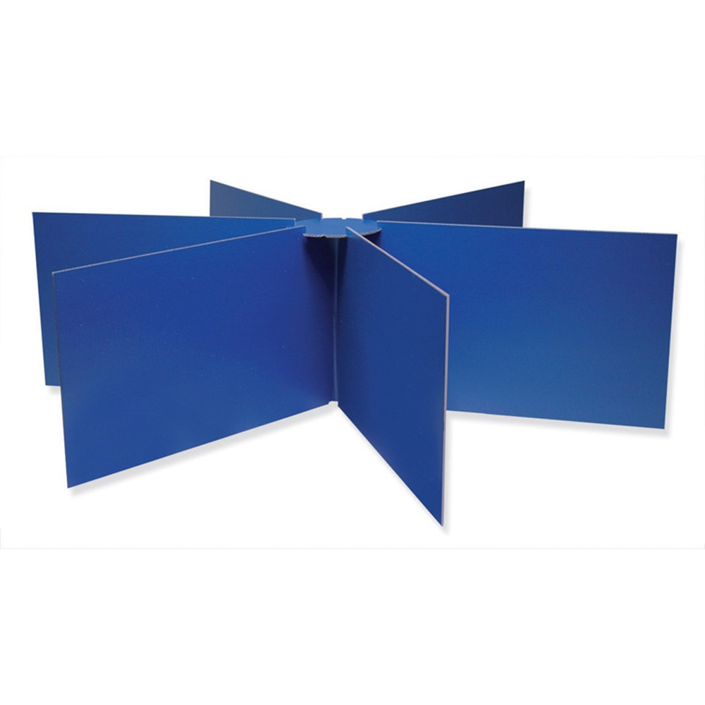 PAC3788 - Round Table Privacy Board 48 X 14 in Wall Screens