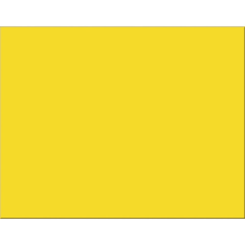 PAC54731 - Peacock Lemon Yellow 25Ct 6 Ply 22X28 Poster Board in Poster Board