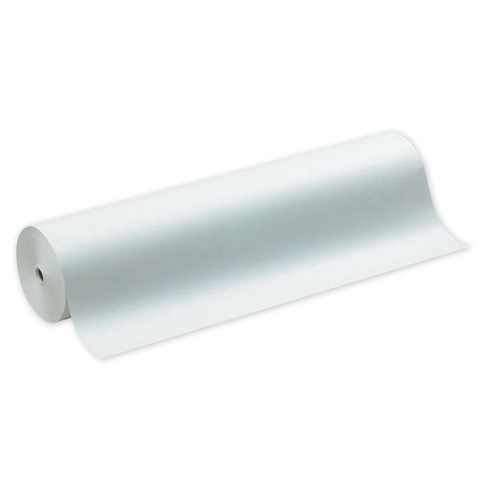 PAC5636 - White Kraft Paper 36In Wide Roll in Bulletin Board & Kraft Rolls