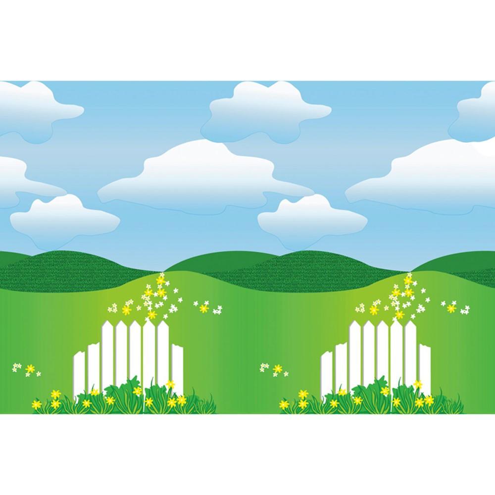 PAC56398 - Fadeless 48X12 Landscape 4Rls/Ctn in Bulletin Board & Kraft Rolls