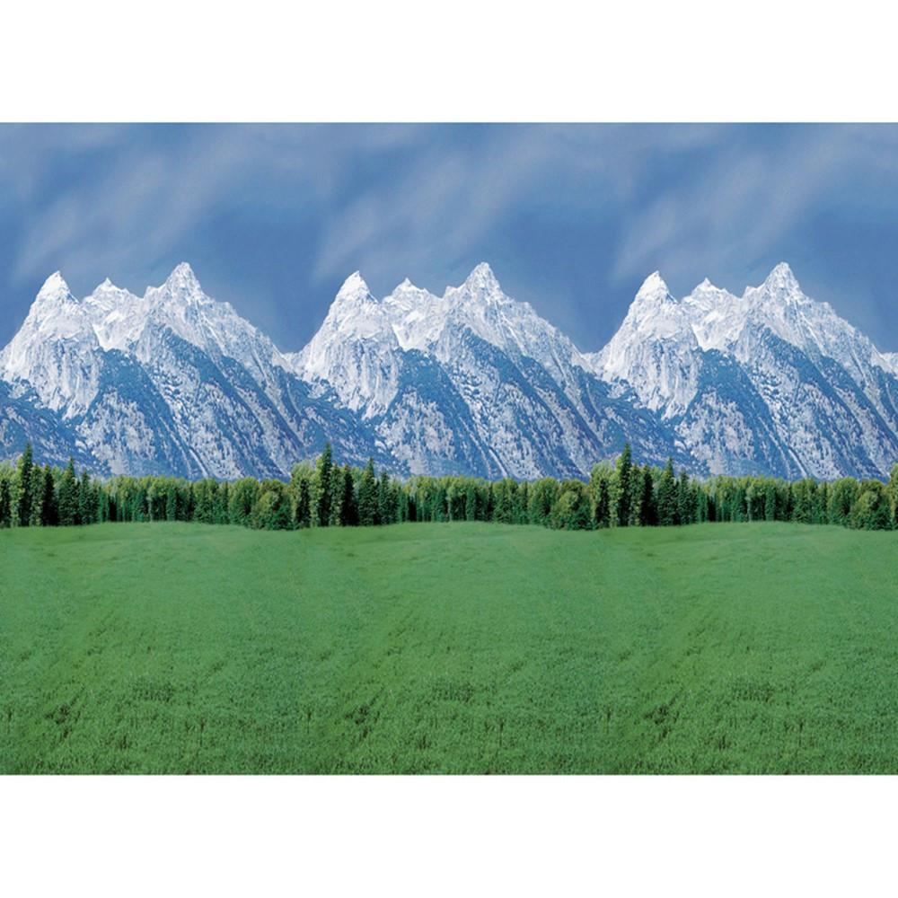 PAC56875 - Fadeless 48X50 Roll Mountains Boxed in Bulletin Board & Kraft Rolls