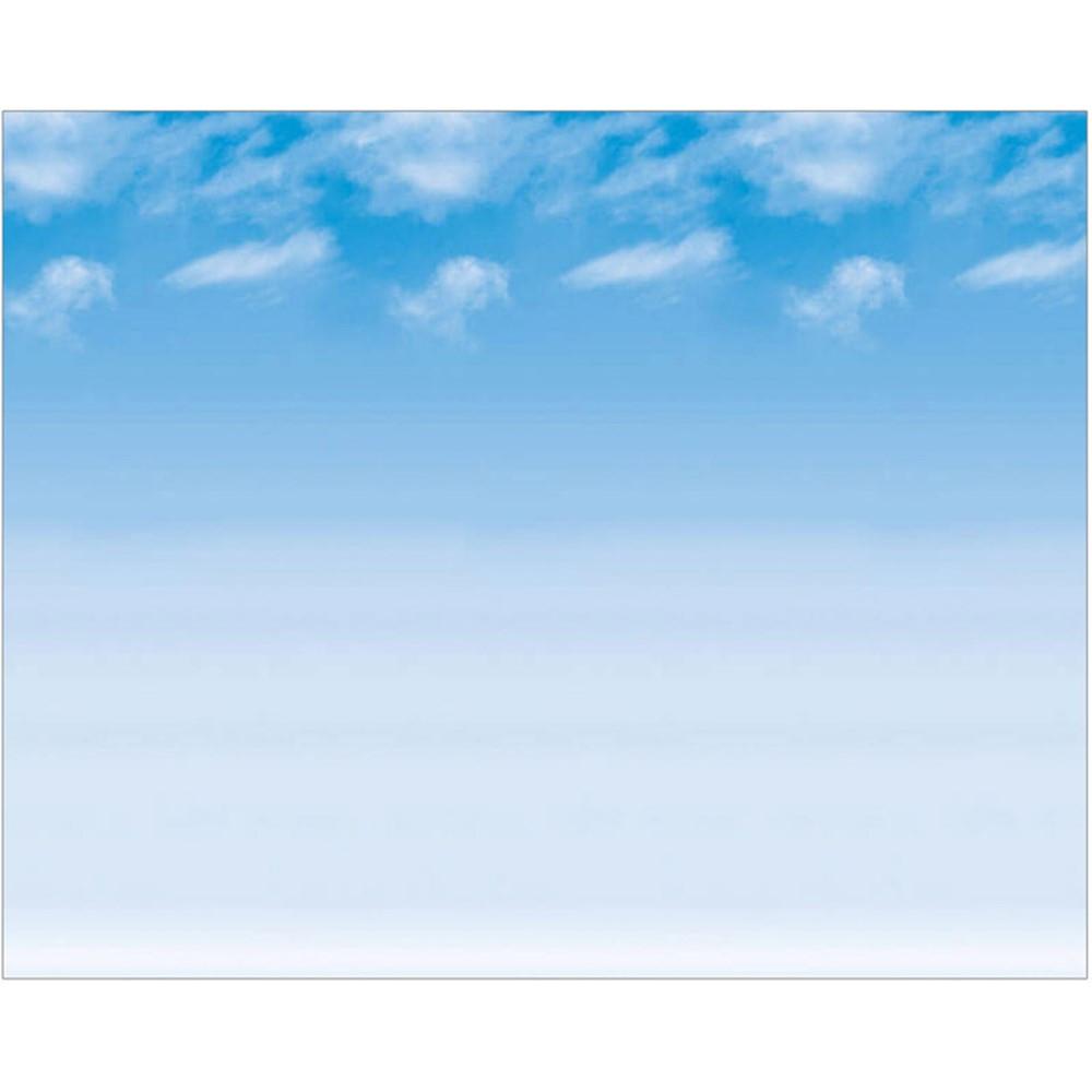 PAC56938 - Fadeless 48X12 Wispy Clouds 4Rls Per Carton in Bulletin Board & Kraft Rolls