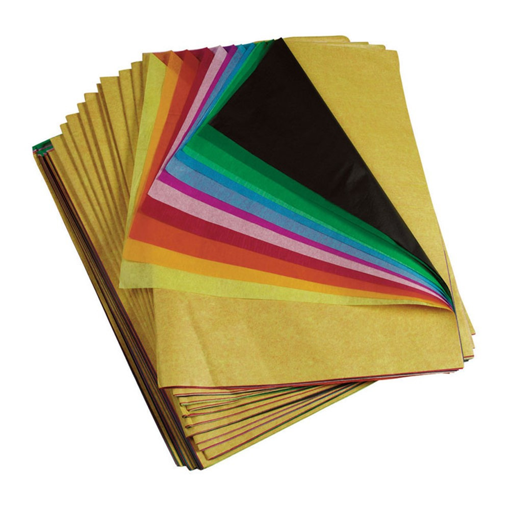 PAC59450 - Spectra Tissue 12 Color Asst 20X30 480 Sheets 5 Per Carton in Tissue Paper