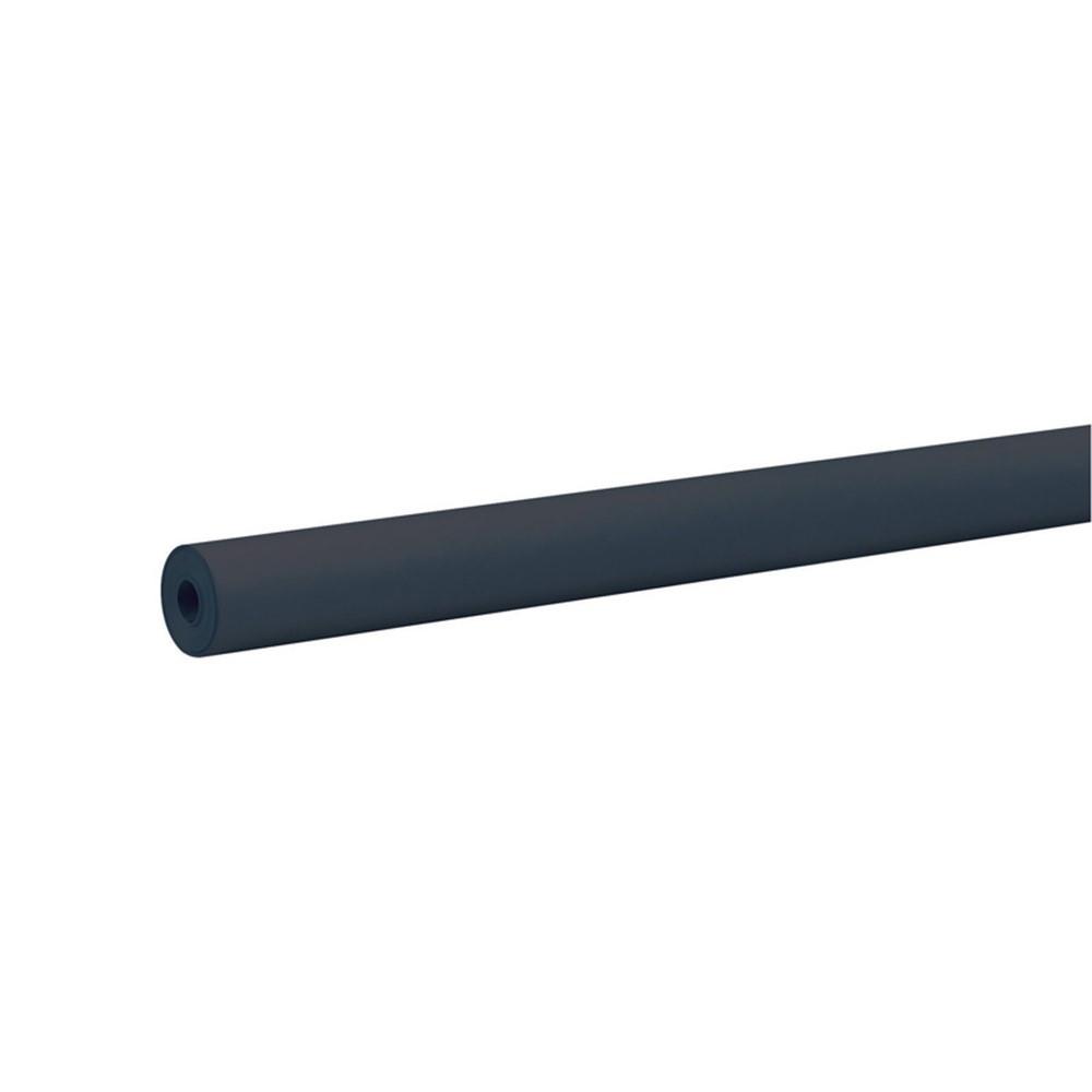 PAC66301 - Rainbow Kraft Roll 100 Ft Black in Bulletin Board & Kraft Rolls