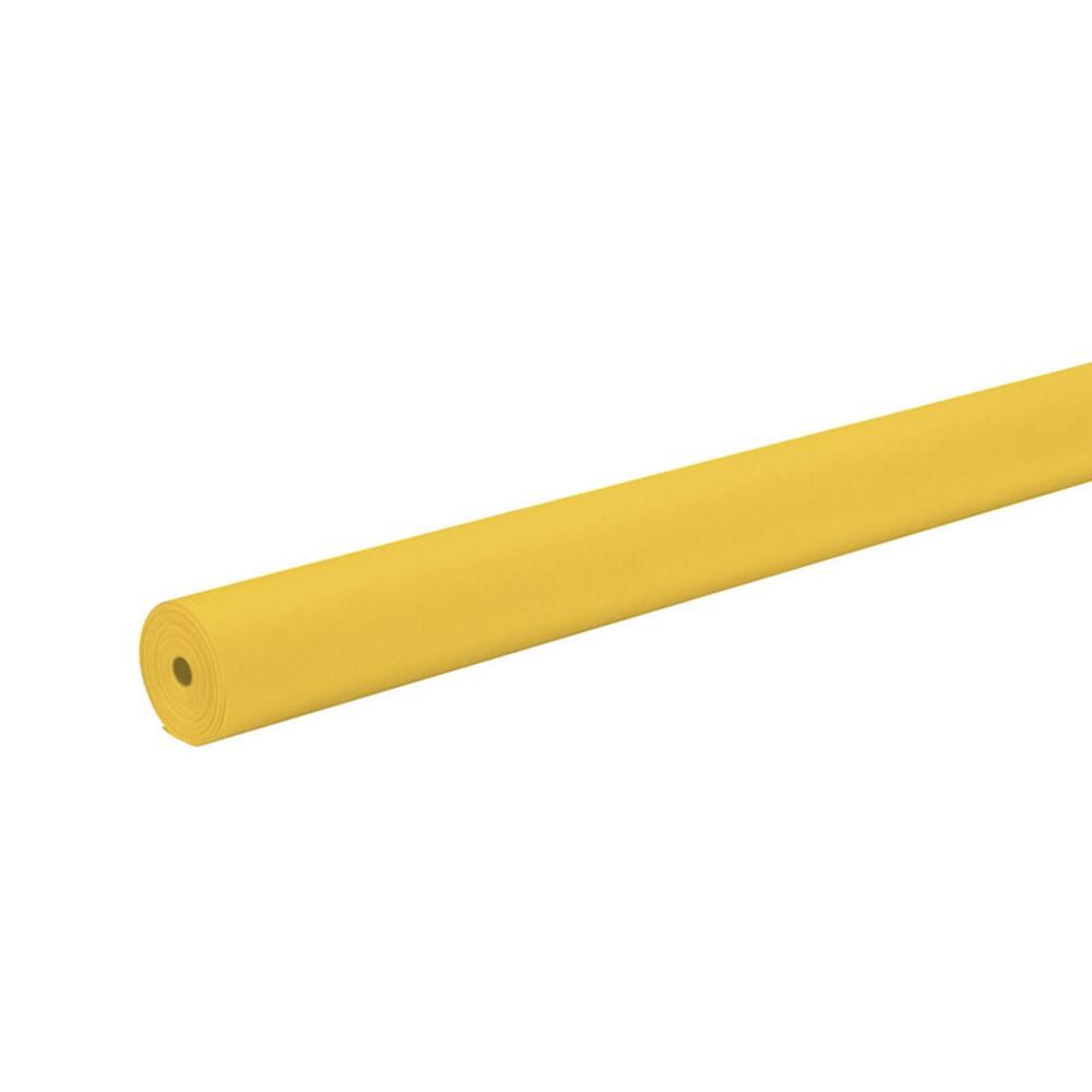 PAC67084 - Art Kraft Roll 48 X 200 Canary in Bulletin Board & Kraft Rolls
