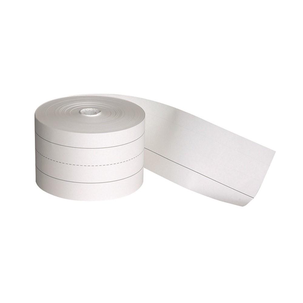 PAC73520 - Sentence Strip 3X200 White Roll in Sentence Strips