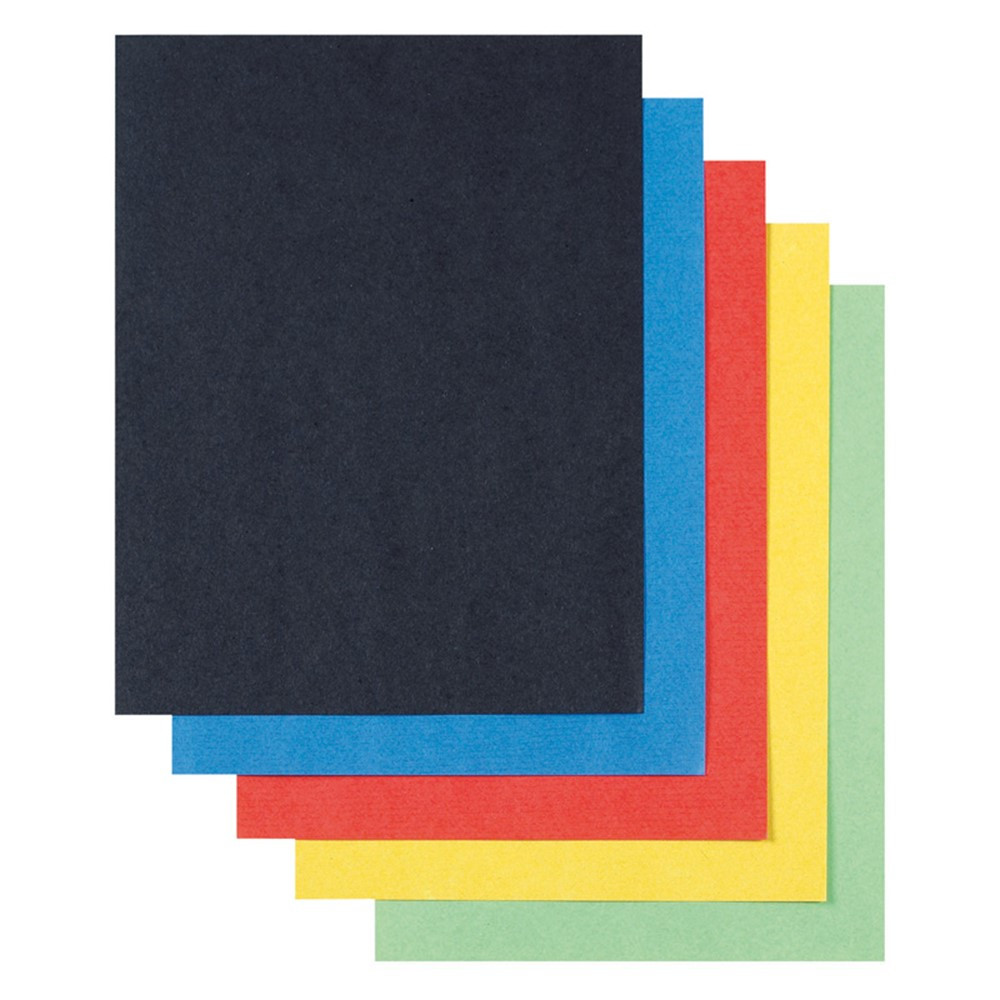 PAC76520 - Super Value Poster Board Asstd Colors 22X28 50 Shts in Poster Board