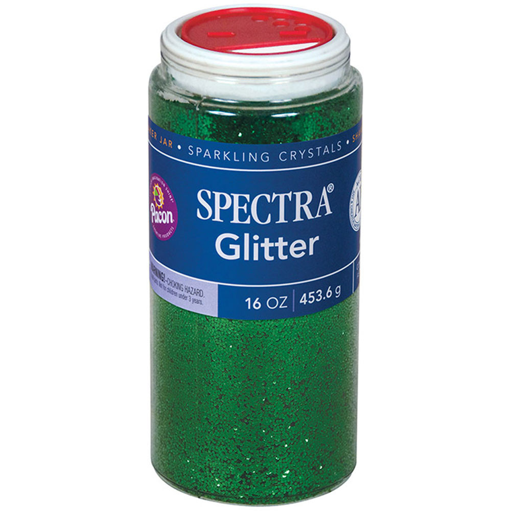 PAC91760 - Glitter 1 Lb Green in Glitter