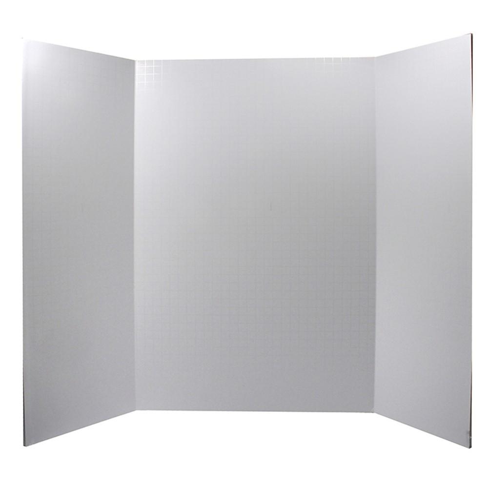 "Foam Presentation Board, White, 1/2"" Faint Grid 28"" x 22 ..."