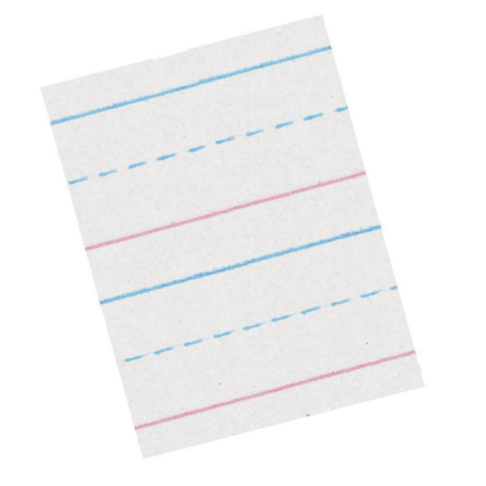 PACZP2411 - Zaner Bloser 5/8In Ruled Sulphite Paper Gr 1 in Handwriting Paper