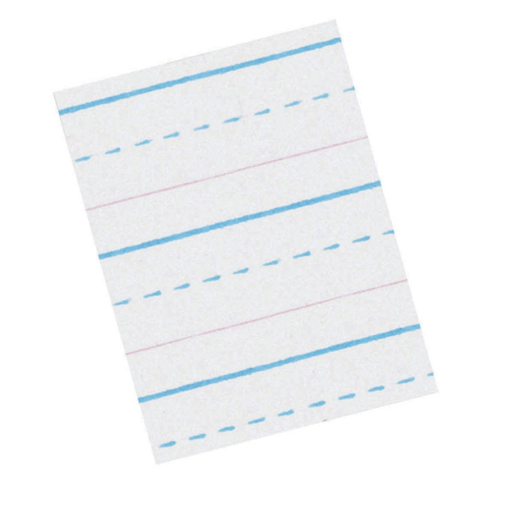 PACZP2412 - Zaner Bloser 1/2In Ruled Sulphite Paper Gr 2 in Handwriting Paper