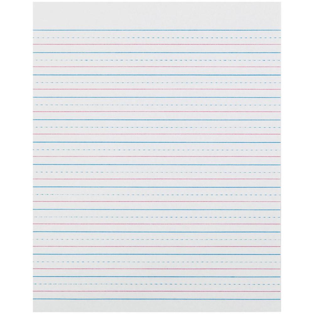 PACZP2413 - Zaner Bloser 1/2In Ruled Sulphite Paper Gr 3 in Handwriting Paper