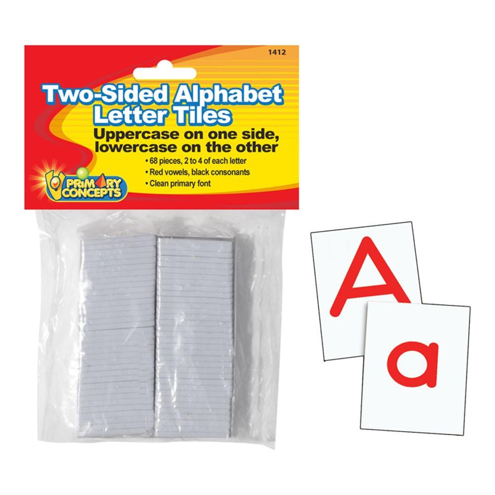 Plastic  Sided Letter Tiles