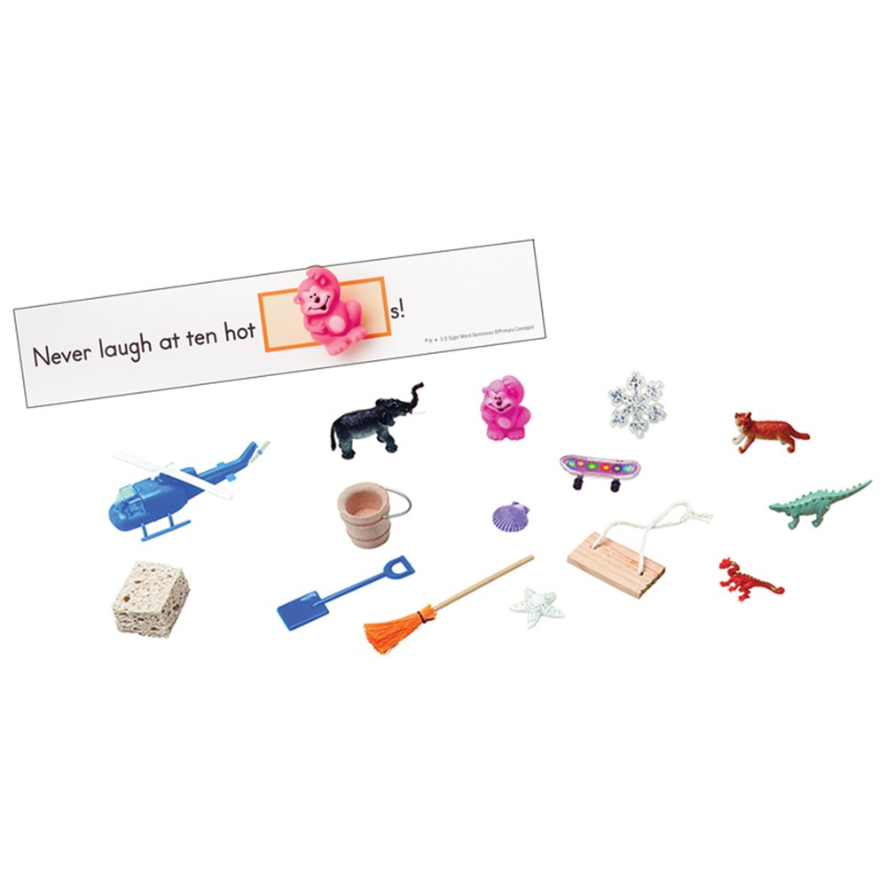 PC-5284 - 3-D Sight Word Sentences Grade 3 Level Dolch Words in Sight Words