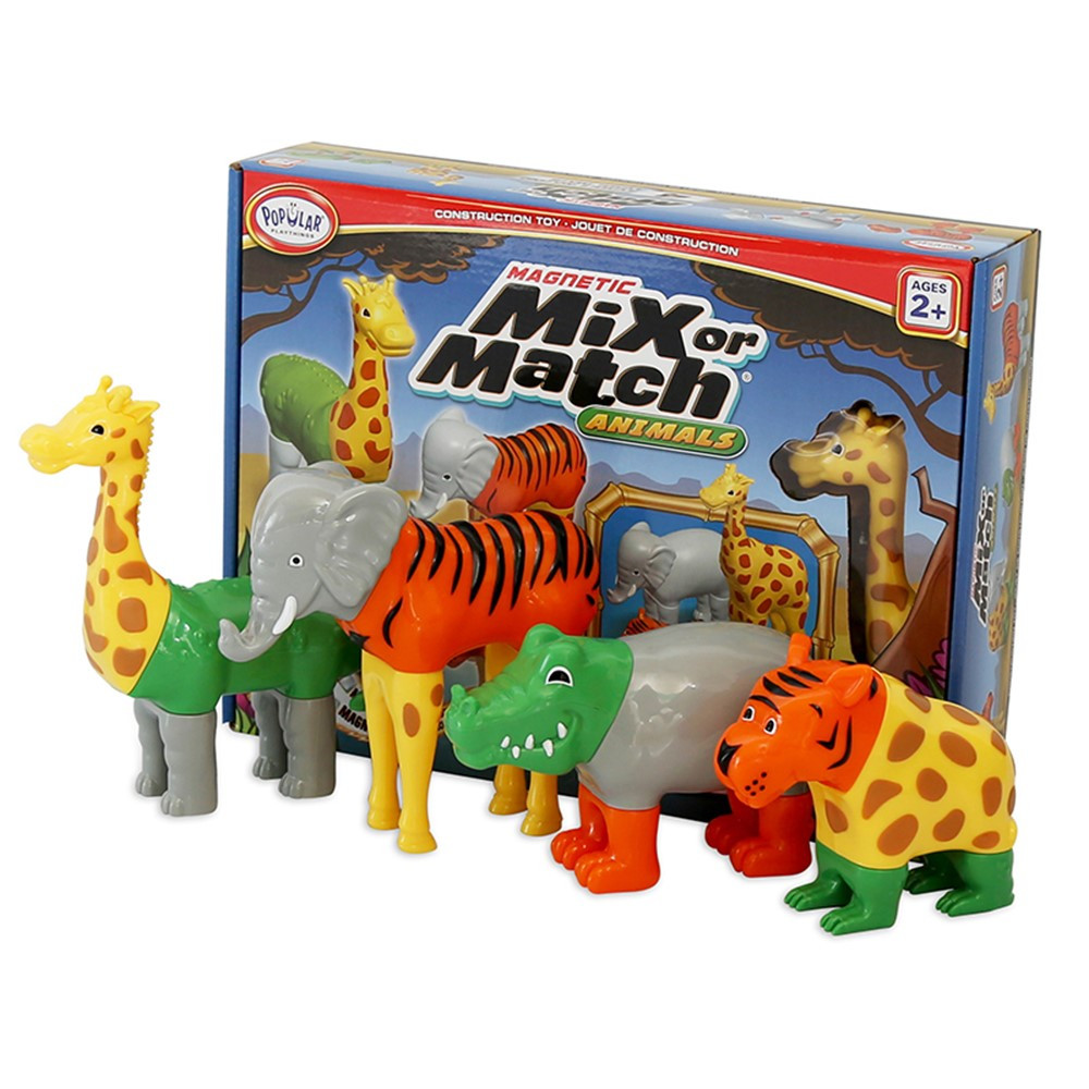 PPY62000 - Magnetic Mix Or Match Animals in Animals