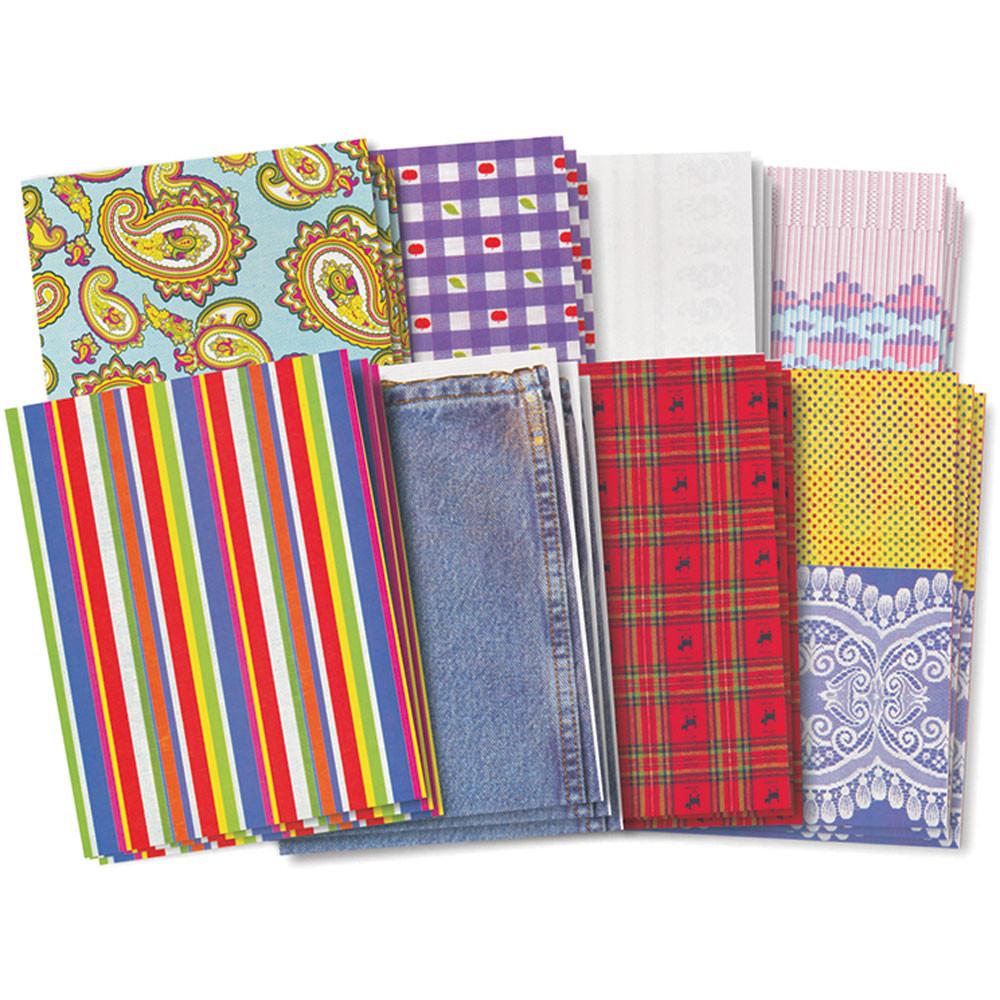 R-15243 - Fun Fabric Paper in Craft Paper