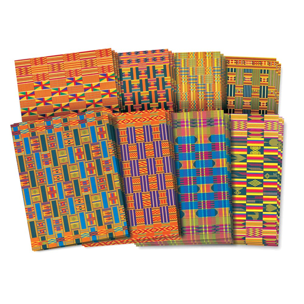 R-15273 - African Textile Paper in Craft Paper
