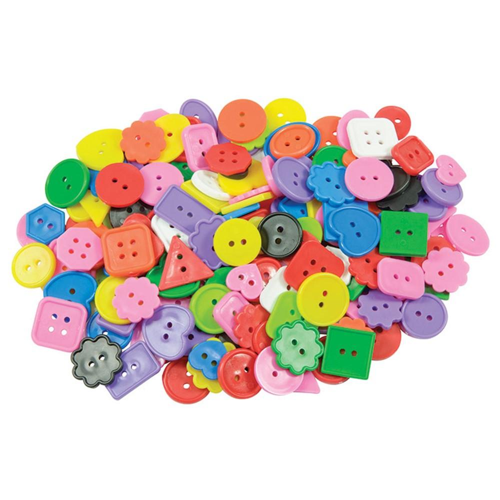 R-2132 - Craft Buttons Asst 1 Lb Pk in Buttons
