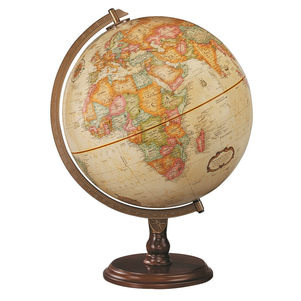 RE-31536 - The Lenox Globe Antique Finish in Globes