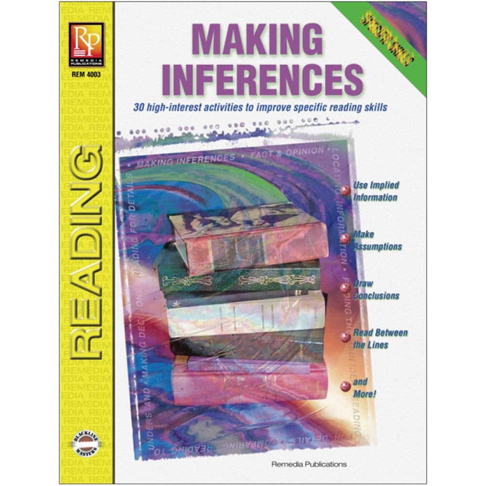 REM4003 - Specific Reading Skills Making Inferences in Reading Skills