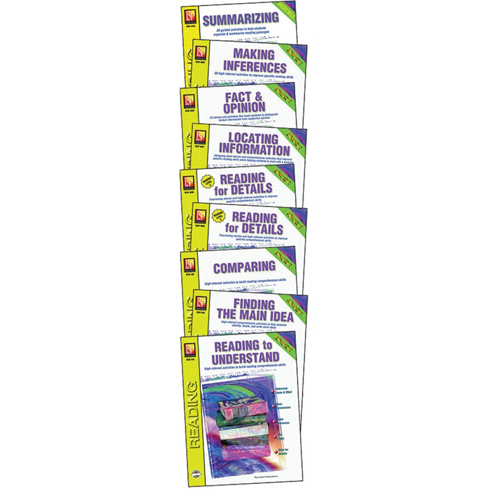REM4005A - Specific Reading Skills Set Of 9 Books in Reading Skills